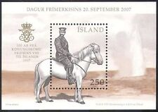 Iceland 2007 Horse/King Frederick VIII's Visit/Royalty/People/Animals m/s n18459