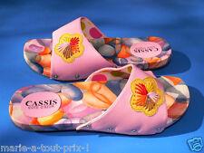 Superbes sandales ETE T38 sandalettes 38 mules ROSES chaussures nu pieds shoes !