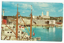 Guadeloupe Point A Pitre Harbor Boats Boat Postcard