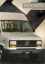 FIAT isole Ducie e Oeno 1988-89 Regno Unito delle vendite sul mercato opuscolo Van Alto TETTO autocabinati Panorama