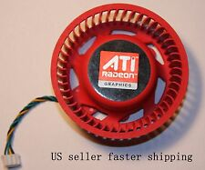75mm ATI Video Card Fan 4870x2 3870x2  5850 6850 6970 6xxx 37x37x 37mm Mounting