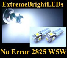 TWO WHITE 15-SMD Canbus Error Free LED Parking Lights #11A