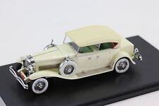 Neo Duesenberg Model J Tourster Derham 1930 Light Beige  Resin 1:43 NEO 45941