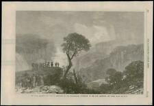 1868 - AUSTRALIA NEW SOUTH WALES Weatherboard Waterfalls Blue Mountains   (155)