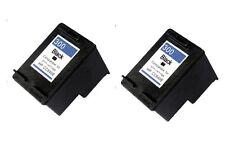 2 Tintas Black 300XL Deskjet f2480 f4210 f4224 f4230 f4235 f4240 f4250 NonOem