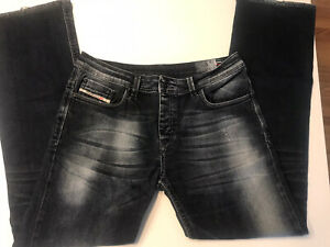 Diesel .. For Successful Living.. Men's Button fly Distressed Jeans…Sz 34 X 31