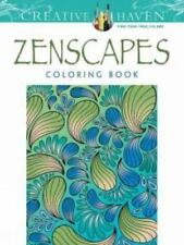 Creative Haven Zenscapes Adult Coloring Book Dover Publications
