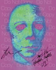 Halloween signed Mane Moran Michael Meyers autograph 8X10 photo poster RP