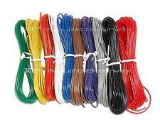 10 Color Stranded 24 Gauge Electrical Wire Kit 196ft Total