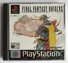 Ps1 Sony PlayStation 1 Game Final Fantasy Origins Boxed MINT