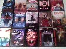 HORROR DVDs x 15 LOT