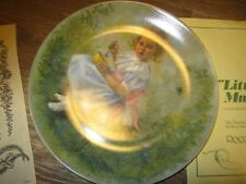 Reco INT. CO. Little Miss Muffet  Plate, Certificate of Authenticity Collection