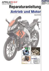 Reparaturanleitung RIS Aprilia RS 125, 4T, Antieb und Motor