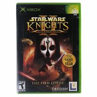 Star Wars: Knights of the Old Republic II - The Sith Lords (Xbox, 2004) CIB