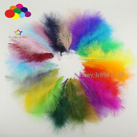100 pcs Turkey Feather 36 color 10-15cm / 4-6 inches DIY Craft Plumage Carnival