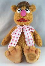 "Disney Store Sesame Street Fozzie Bear Plush Stuffed Animal Muppet 16"""