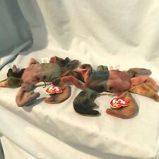 Claude Crab Lot of 2 Ty Beanie Babies #4083 1996 Pe Retired $15.99