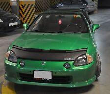 Honda CRX DEL SOL 92 93 94 95 96 97 98 Custom Car Bonnet Mask / Hood Bra + LOGO