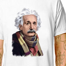 T-SHIRT_ DOCTOR EINSTEIN - DR WHO // tom baker drwho scarf festival LazyCarrot