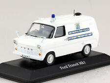 Ford Transit MK1 Police Polizei UK 1:43 Atlas Modellauto