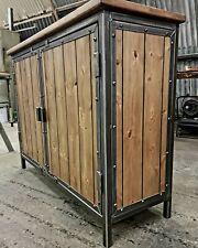 Industrial Style Sideboard Cupboard Cabinet Storage Unit Rustic Furniture