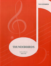 Thunderbirds Theme (piano); Gray, Barry, Piano/Vocal/Guitar Singles - IMP7746A