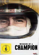 Weekend Of A Champion [DVD] NEU Jackie Stewart, Roland Polanski Formel 1 DEUTSCH