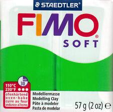 Panetto 57 gr. FIMO SOFT Pasta Modellabile 30 COLORI BASE *Sped.Tracciata*