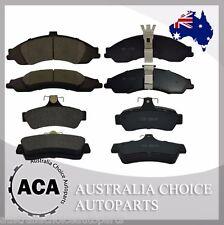 Full Set of Premium Front 1331 Rear 1332 Brake Pads for Holden Crewman Ute