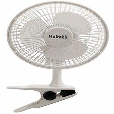 Holmes Clip Fan HCF0667 6' Inch with 2 Speed Settings White