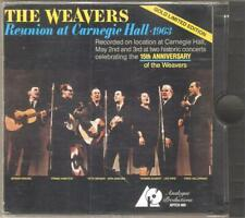 The WEAVERS  Reunion at Carnegie Hall CD 1987/1994 USA GOLD LIMITED EDITION