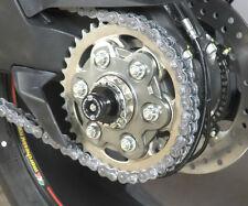 R&g Racing rueda trasera eje Sliders Protectores para adaptarse a Ducati Monster 1200