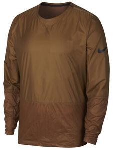 Nike Mens Running-Division Light Weight Running Jacket Brown New 928497-281