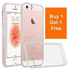 New Transparent Crystal Clear Case for iPhone 5 5S Back Case Gel TPU Cover Skin