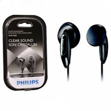 Philips In-ear Headphones Clear Sound Ear Buds Black SHE1360