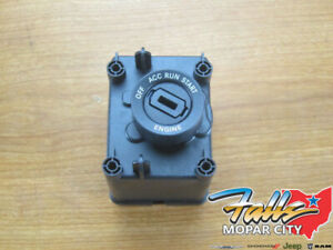 2017-2019 Ram 1500 2500 3500 4500/5500 Ignition Switch (Key Required) Mopar OEM