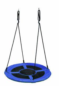 COIL Storchennest Nestschaukel Gartenschaukel Schaukel Blau Grun 100 cm