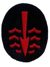 Kriegsmarine Underwater Specialist Trade Badge - WW2 Repro Patch German Navy New
