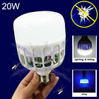E27 LED Anti-mosquito Bulb 20W Electronic Insect Fly Attract Killer Trap Lamp EB