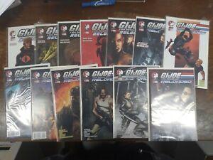 Alternative comics G. I. Joe Reloaded 1 2 3 4 5 6 7 8 9 11-14 NM Bagged Boarded