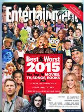 Entertainment Weekly December 18/25 2015 Best & Worst Top 10 EX 052616jhe