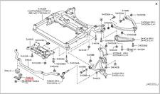 INFINITI Stabilizer Clamp 54614-AL500 for M / Q70, FX / QX70, G / Q60, EX / QX50