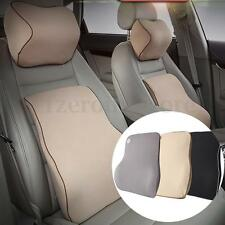 Back Pain Support Cushion Pillow Memory Foam Lumbar Chair Car Office Seat Pad