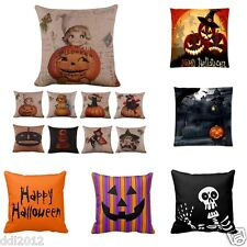 2016 Halloween Party Pillow Case Sofa Waist Throw Cushion Cover Home Decoration