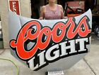 """authentic Coors light Sterling marlin signed NASCAR hood . 61"""" X 46"""""""