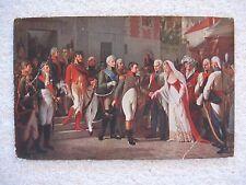 Napoleon & the Queen of Prussia in Tilsitt Postcard Les Editions Nomis Paris