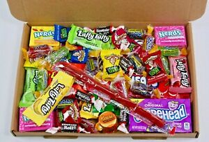 American sweets gift box - USA candy hamper - Nerds - Airheads - Reeses