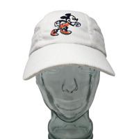 Walt Disney World Run Walt Disney Mickey Mouse Baseball Cap White OSFM Stretch