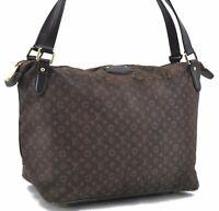 Louis Vuitton Monogram Idylle Ballade MM Shoulder Tote Bag Brown M40570 LV C2491