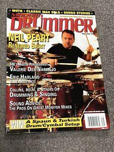 """Modern Drummer Magazine September 2002 Neil Peart """"Renewed Spirit"""""""